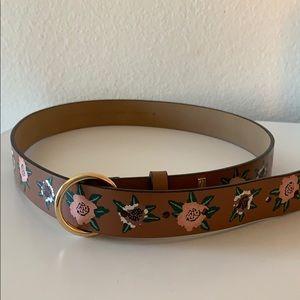 Rebecca Minkoff Floral Belt